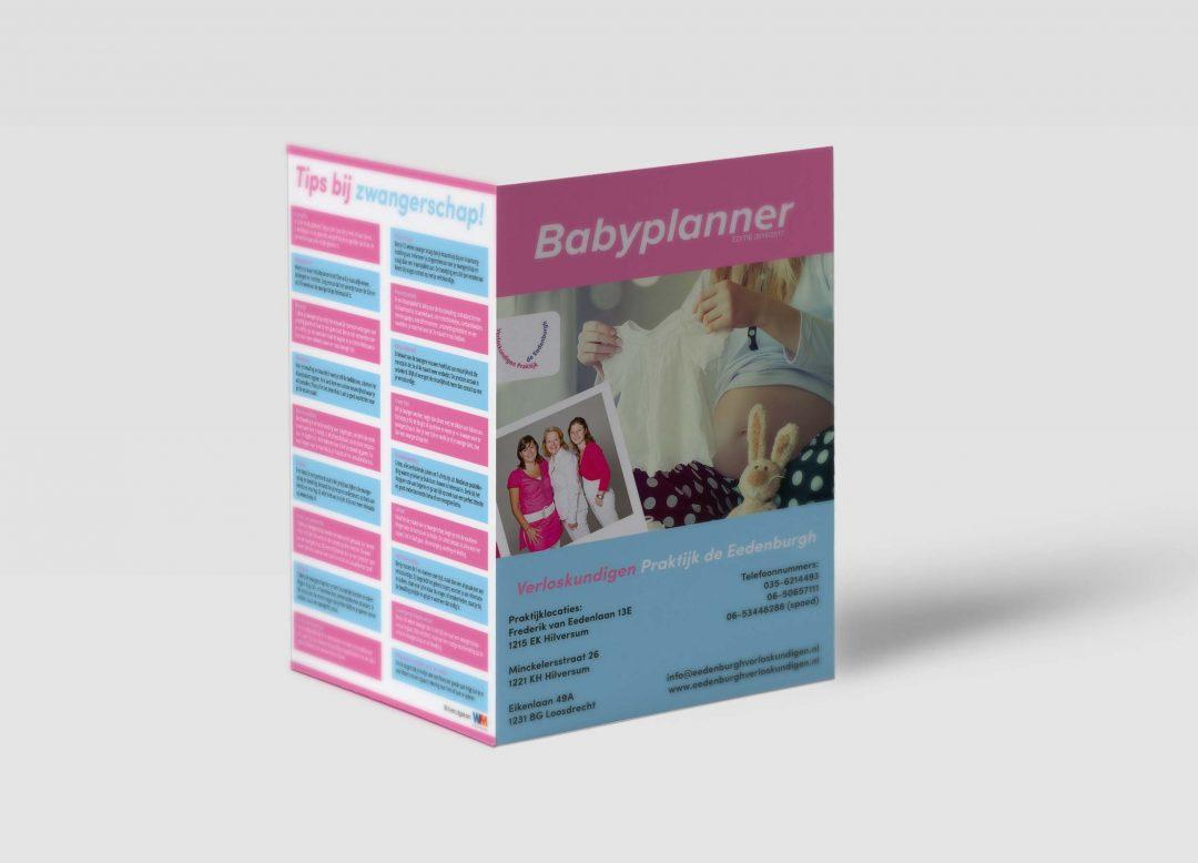 Babyplanner Verloskundigen praktijk de Eedenburgh
