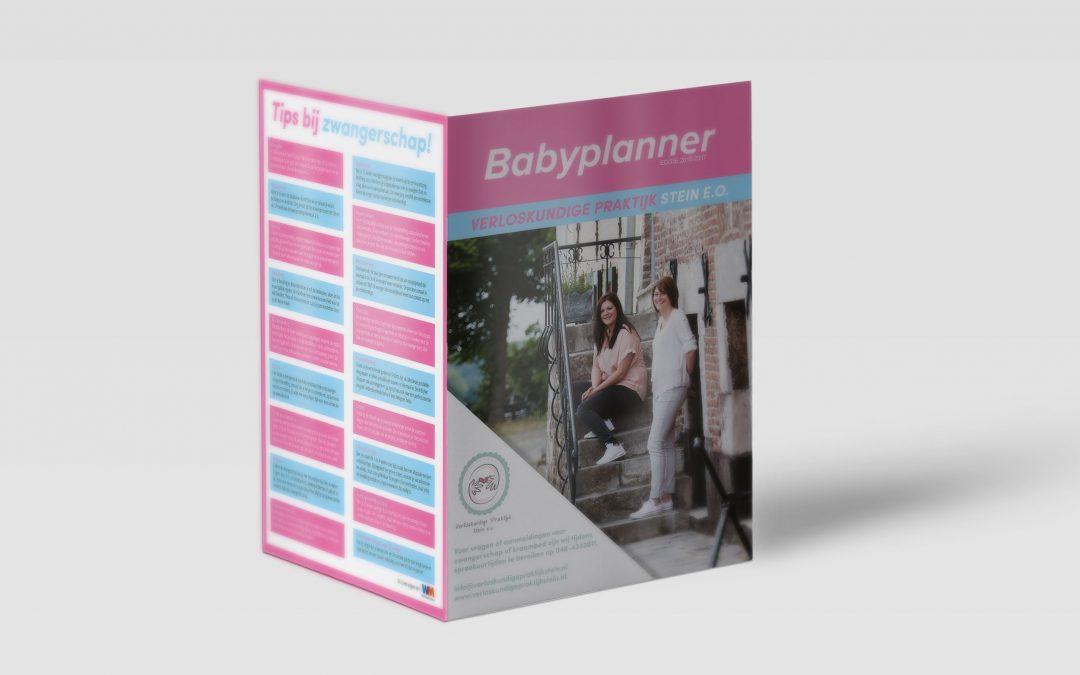 Babyplanner Verloskundigepraktijk Stein
